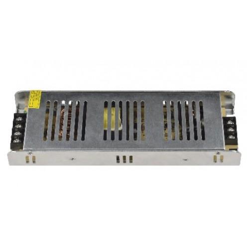 Трансформатор (блок питания метал) 12V 16,7A 200W IP20 с клемн.колод.UET-VAS-200A20 UNIEL