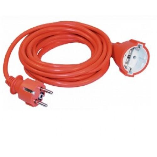 Удлинитель переносной УШ-01РВ оранжевый  2Р+РЕ 3х1/5м ИЭК WUP10-05-K09-N