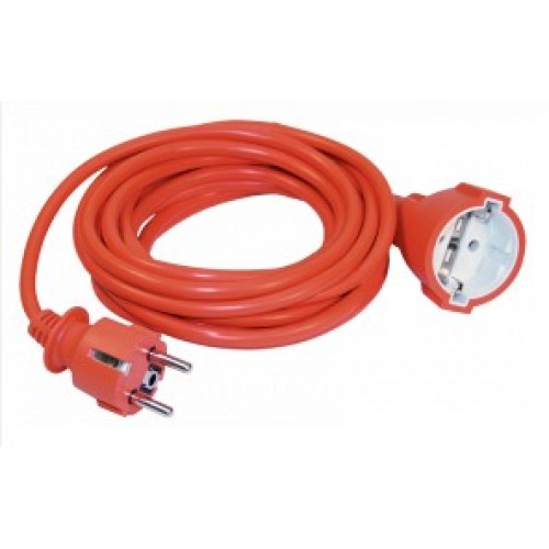 Удлинитель переносной УШ-01РВ оранжевый 2Р+РЕ 3х1 20м ИЭК WUP10-20-K09-N