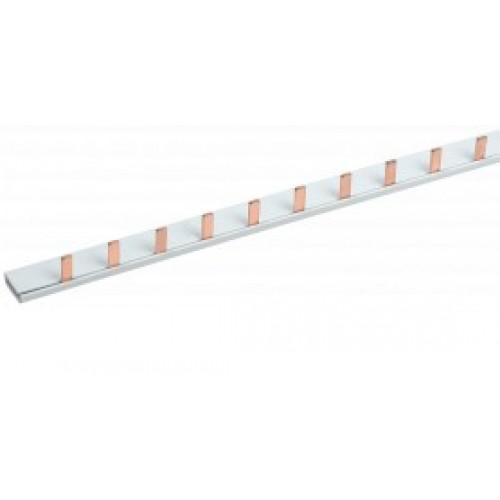 Шина соединительного типа PIN(12штырей) 1Р 63А 22 см ИЭК YNS21-1-063-22-12