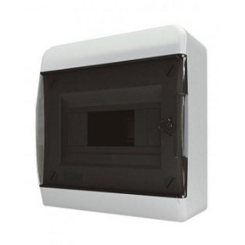 Бокс навесной Tekfor o/у 8 мод. прозрачная дверь IP41 (CNK 40-08-1)