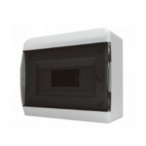 Бокс навесной Tekfor о/у 12 мод. прозрачная дверь IP41 (BNK 40-12-1)