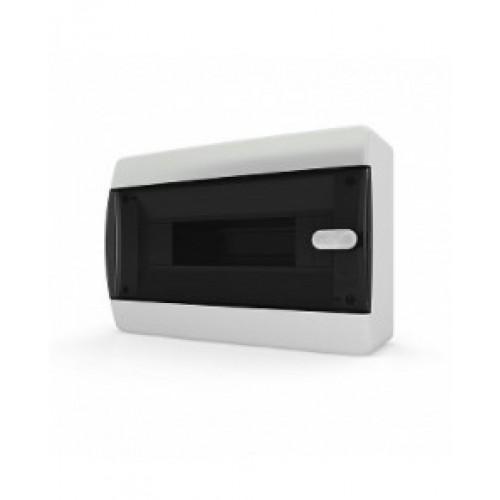 Бокс навесной Tekfor о/у 12 мод. прозрачная дверь IP41 (CNK 40-12-1)
