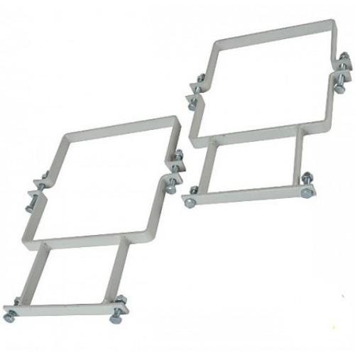 Комплект крепления для металлического щита с выносом
