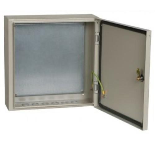 Корпус металлический ЩМП-4.4.1-0 74 У2 IP54 (400x400x150) ИЭК YKM40-441-54