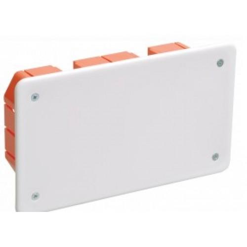 Коробка распаячная КМ41006 для тв. стен 172х96х45 (с крышк., с саморез.) ИЭК