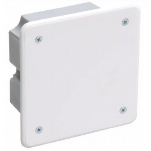 Коробка распаячная КМ41021 92х92х45 для пол. стен (саморезы, метал. лапки)