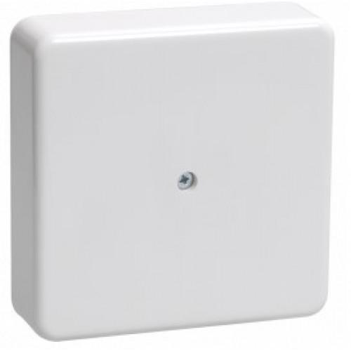 Коробка распаячная КМ41212-01 для о/п 75х75х20мм белая с конт. группой