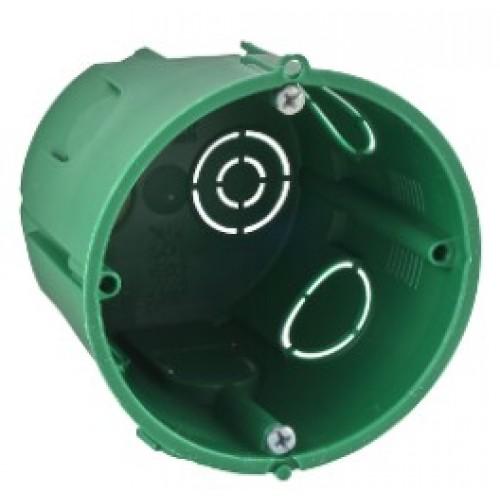 Коробка установочная для твердых стен D65х60мм, зеленая глубокая IMT35101 SCHNEIDER