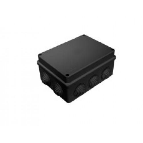 Коробка распаячная ОП 150х110х70 черная 10 вводов IP55 Промрукав 40-0310-9005 (28шт/уп)