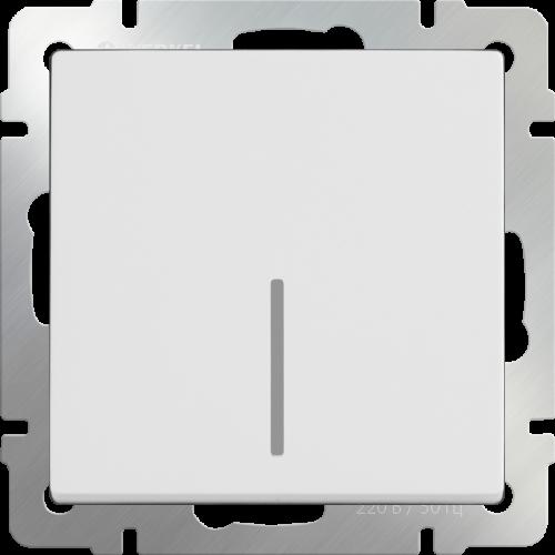 Выключатель 1кл. белый WL01-SW-1G WERKEL