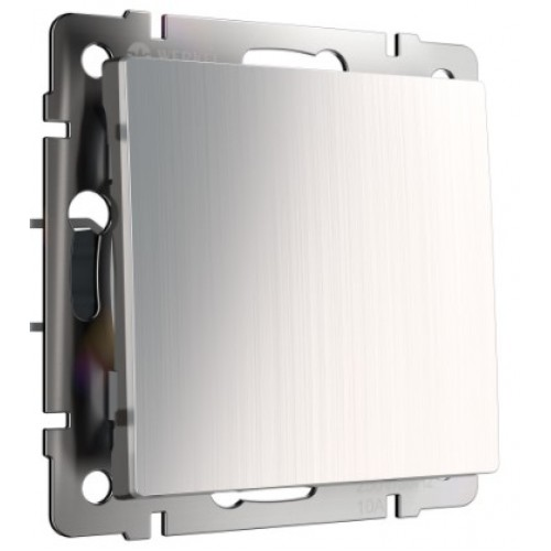 Выключатель 1кл. глянцевый никель WL02-SW-1G WERKEL