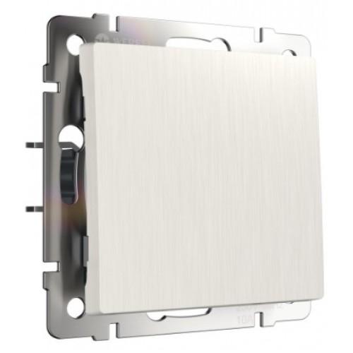 Выключатель 1кл. перламутровый рифленый WL13-SW-1G WERKEL