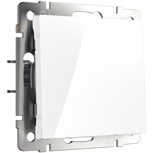 Выключатель 1кл. проходной белый WL01-SW-1G-2W WERKEL