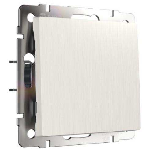 Выключатель 1кл. проходной перламутровый рифлёный WL13-SW-1G-2W WERKEL