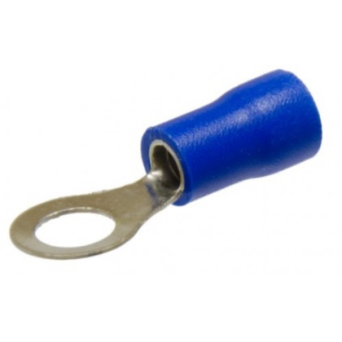 Наконечник НКИ D10,5мм 1,5-2,5 мм2 синий REXANT 08-0037