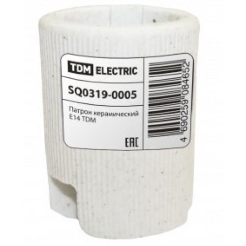 Патрон Е-14 керамический (контакты-медь, гильза-медь)-5565327