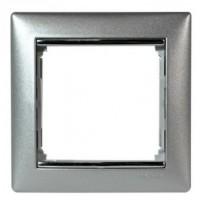 Рамка 1 пост алюминий Valena Legrand 770151