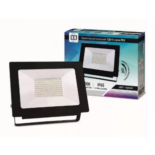 Прожектор светодиодный СДО-5-100 серии PRO 100 Вт 230В 6500К IP65 LLT