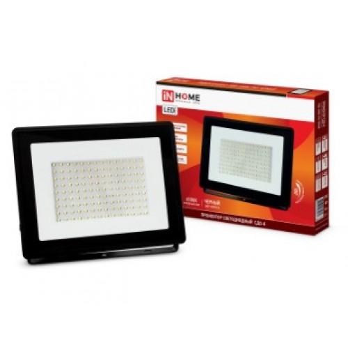 Прожектор светодиодный СДО-8 100 Вт 230В 6500К 9500Лм IP65 IN HOME