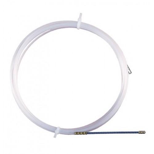 Протяжка для труб S3/10 d3 mm L10m (нейлон) ДКС 59410