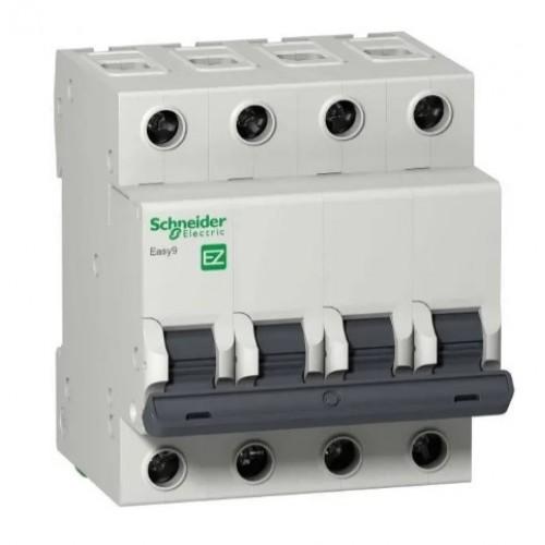 Автоматический выключатель Schneider Electric Easy9 4P C25 EZ9F34425