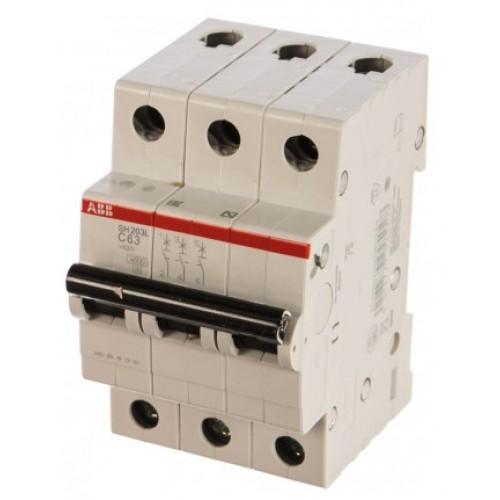 Автоматический выключатель ABB SH203 C63