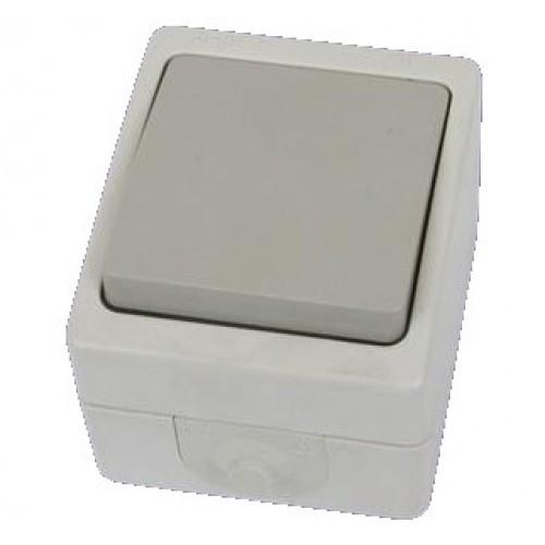 Переключатель проходной ВУОКСА 1кл. о/у  10А IP54 TDM
