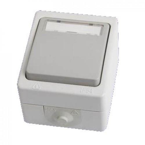Кнопка звонковая С/П IP54 6A ВУОКСА TDM