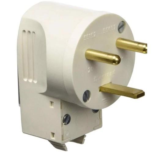 Legrand/55152 Вилка для электроплиты 20A 220B 2P+T скрытой установки слоновая кость