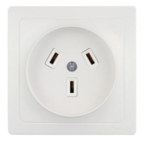 Розетка для электроплиты 32А белая Schneider Electric