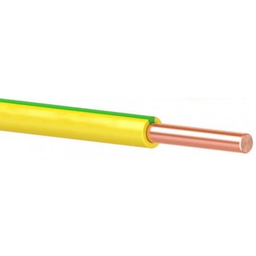 Провод ПВ 1 (ПуВ) 1х 4 (ж/зел.) для заземления ГОСТ