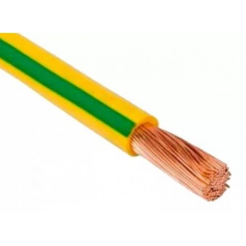 Провод ПВ 3 1х1,5 ГОСТ (ПУГВВ) мягкий ж/зеленый