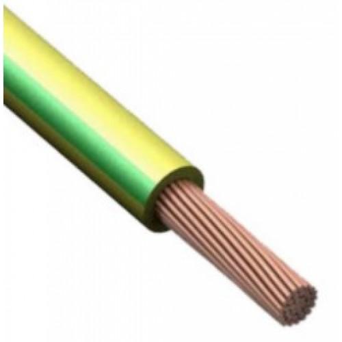 Провод ПВ 3 1х6 ГОСТ(ПУГВВ)ж/зеленый для заземления