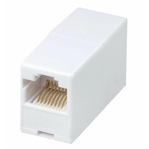 Компьютерный проходник-адаптер (гнездо-гнездо) RG-45 8Р-8С RIPO 003-500005/3000 AVS