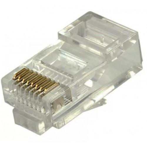 Коннектор RJ45 компьютерный обжимной 8Р8С Сat.6е RIPO 003-400006 AVS