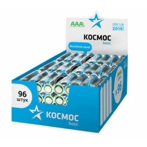Элемент питания (батарейка) LR6 AA (1шт) КОСМОС KOCLR6-96BOX