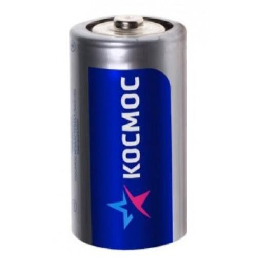 Элемент питания (батарейка) R20 (1шт) КОСМОС