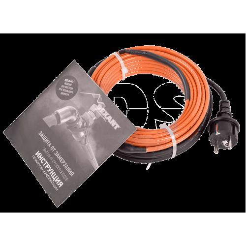 Кабель нагревательный саморег. с вилкой (комплект в трубу) 10НТМ2-СТ 15м/150Вт REXANT 51-0606