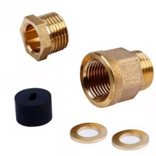 Сальник с резьбой 1/2 для ввода кабеля в трубу Proconnect 51-0610-1