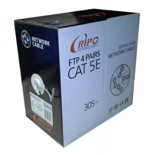 Кабель UTP4 CAT5E 24 AWG Cu медь внутр. RIPO 001-112012/010310 AVS