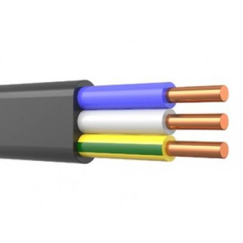 Кабель ВВГ-Пнг LS 3х10 ГОСТ плоский