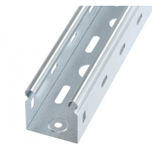Лоток металлический перфорированный 50х50x3000 DKC SLP3505