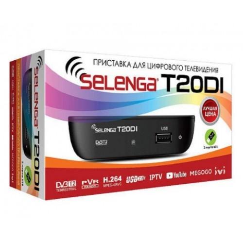 """Ресивер (приставка цифровая DVB-T2) """"SELENGA"""" T20DI (Rexant) 32-0205"""