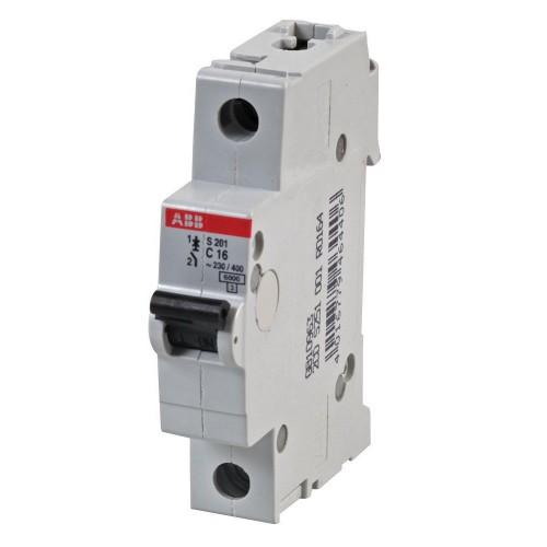 Автоматический выключатель ABB S201 C16