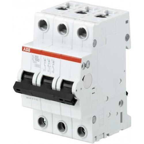 Автоматический выключатель ABB S203 C100