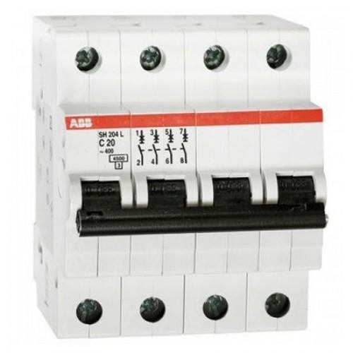 Автоматический выключатель ABB S204 C40 6kA