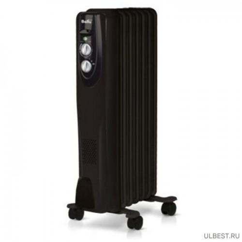 Масляный радиатор Ballu Classic black BOH/CL-07BRN 1500 Вт 7 секций черный HC-1050895 BALLU