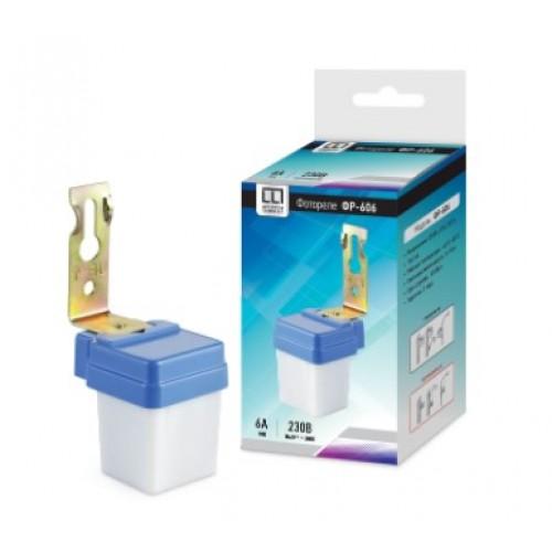 Датчик освещения (фотореле) ФР-606 6А 220В ASD/LLT