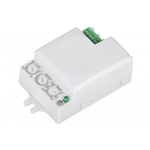 Датчик движения микроволн. встраив. ДД-МВ 401 белый 500Вт, 360гр.,8м, IP20 ИЭК